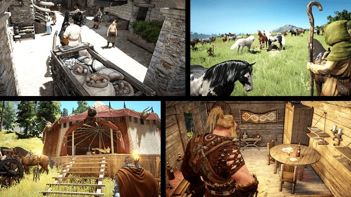 Black Desert dünyasının gerçekliği ve detayları seni ilk bakışta çok şaşırtacak. MMORPG tarihinde yapılmış en gerçekçi dünyada yaşamaya hazırlan.