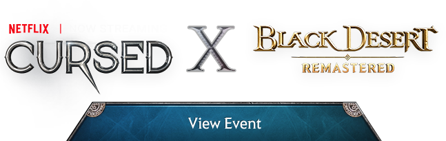 blackdesert and netflix collaboration event