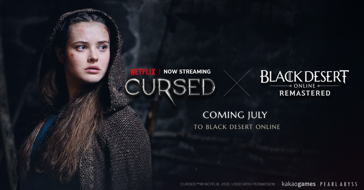 Pearl Abyss and Kakao Games to launch Black Desert in-game content based on Netflix Original Series, Cursed