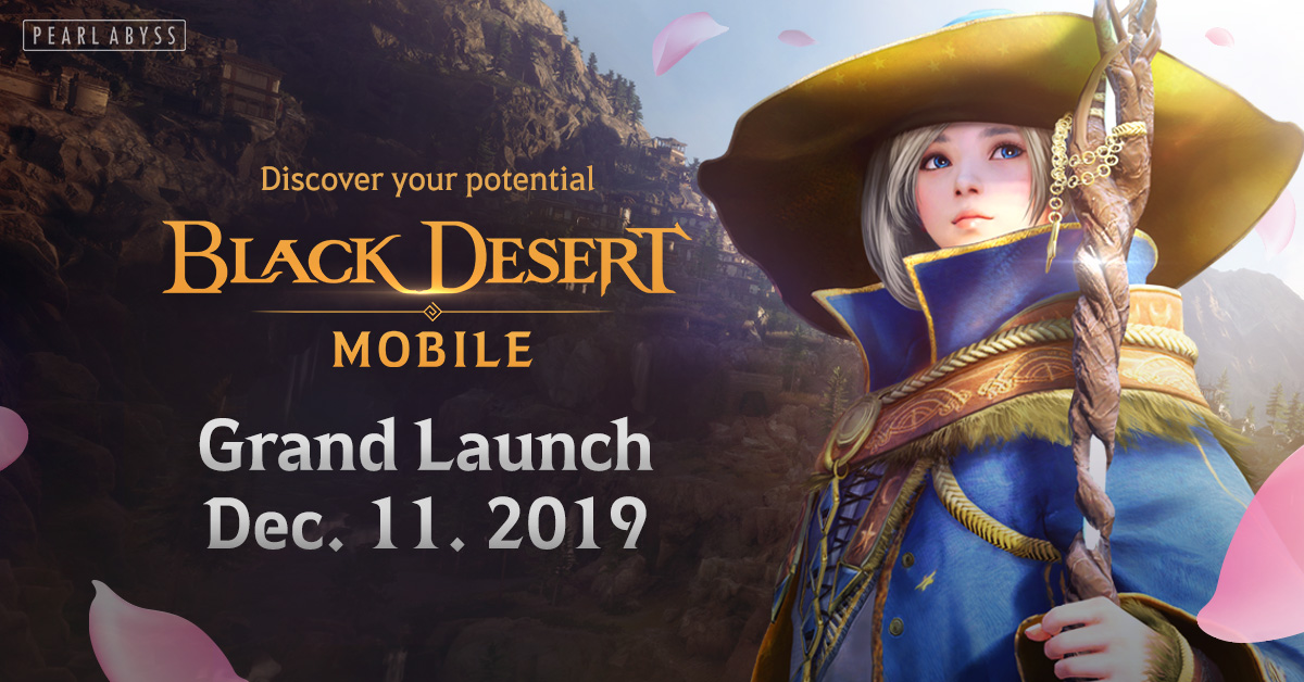 Grand Launch of Black Desert Mobile Hits iOS and Android on December 11 Following 3M+ Pre-Registrations